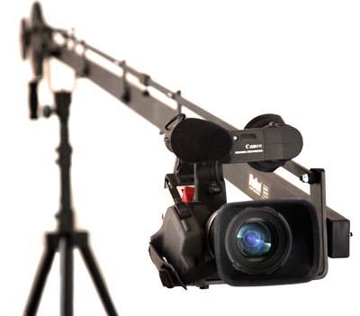 filmare cu macara