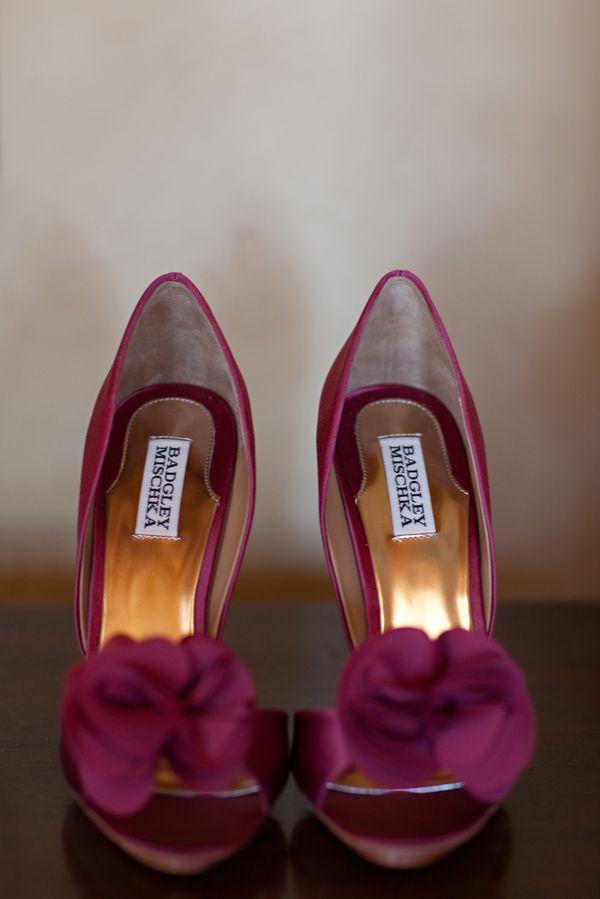 Pantofi De Mireasa In Culoarea Anului 2015 Marsala Ghidul Tau De