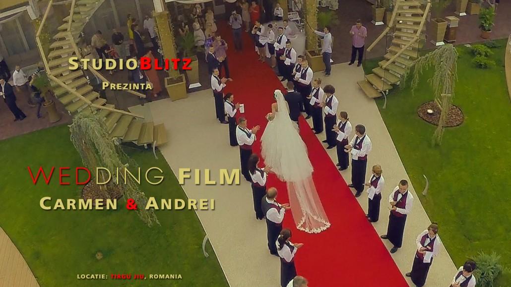 Video nunta drona, filmare cu drona