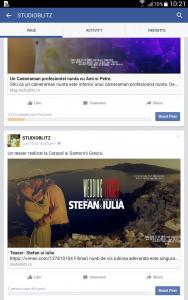Facebook wall studioblitz