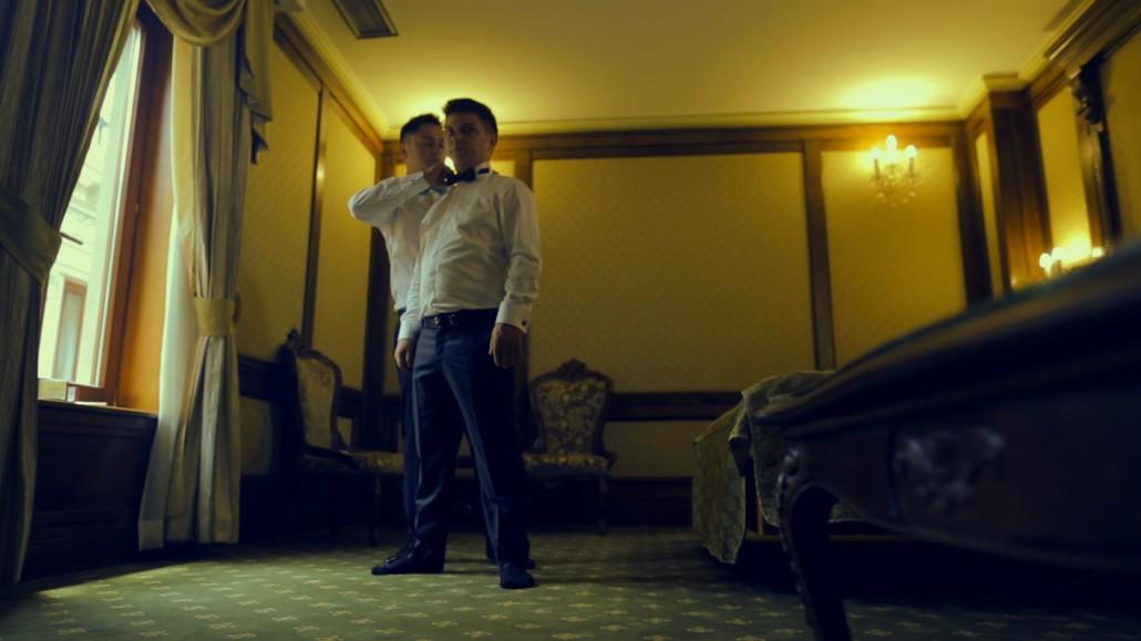 Pregatiri de nunta, filmat de cameraman profesionist