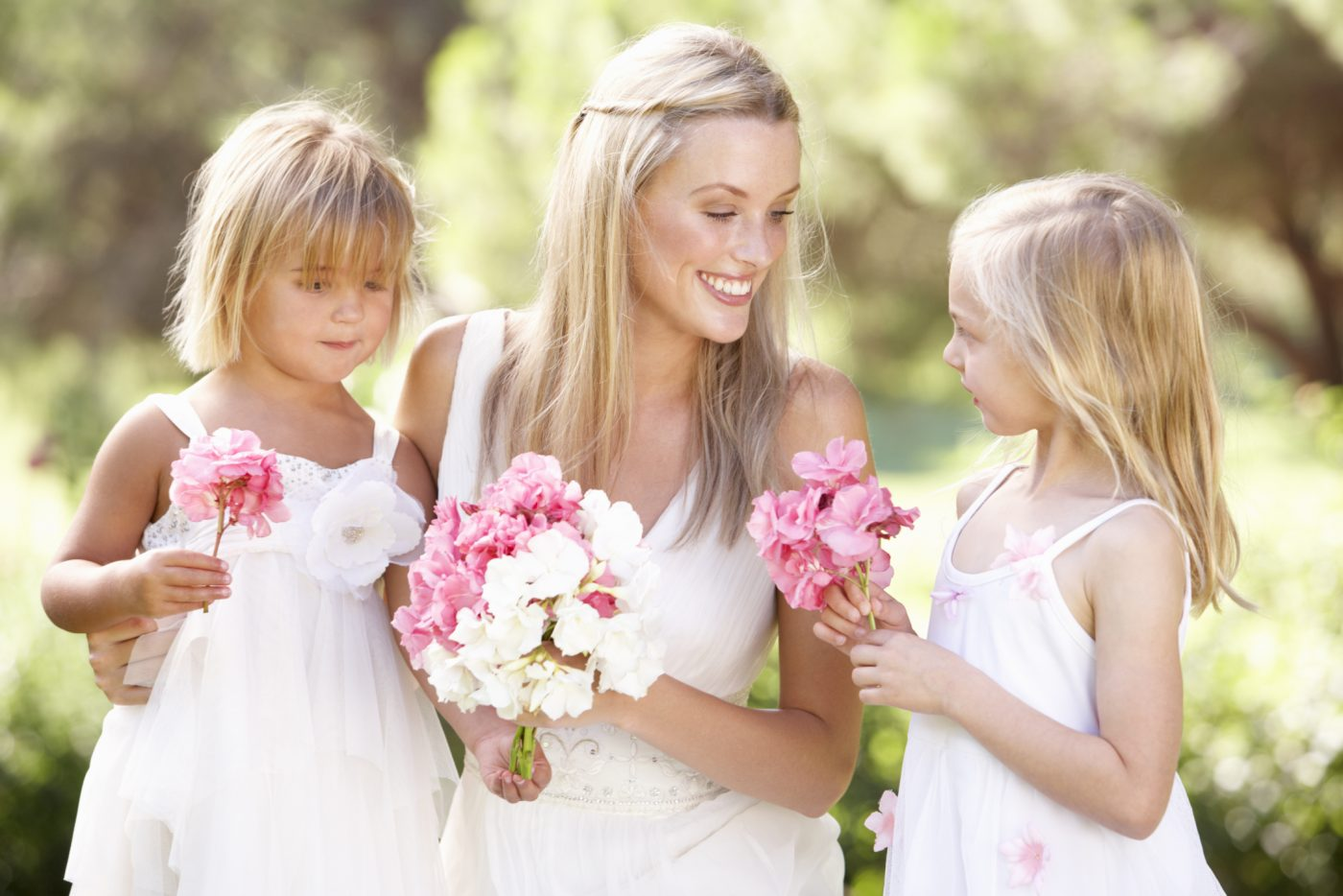 Copii la nunta