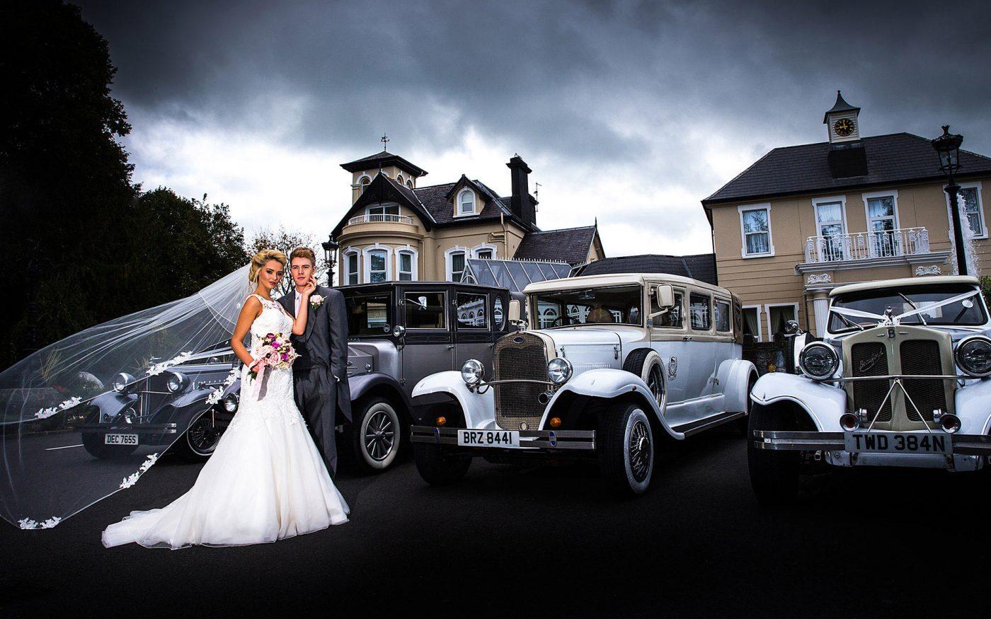 Masini de lux la nunta