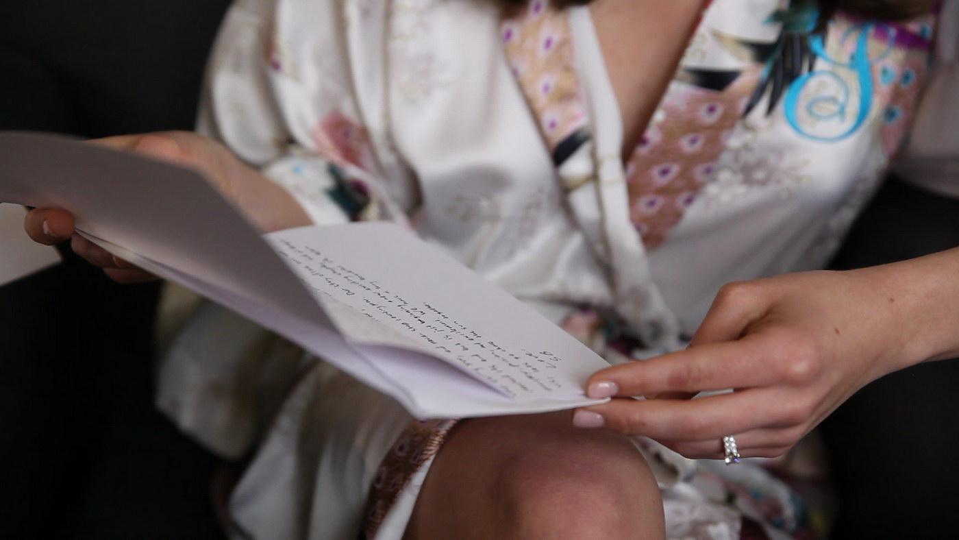 Scrisoare pentru mireasa de la cea mai buna prietena