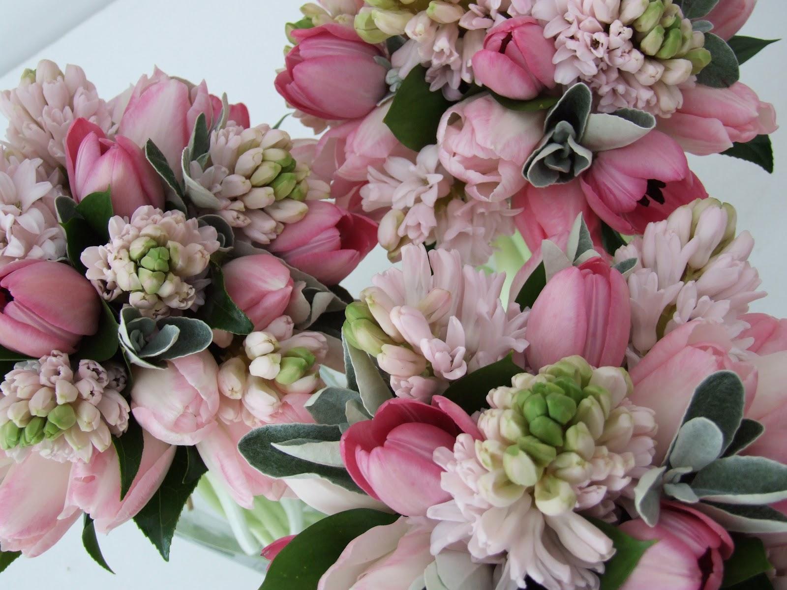 aranjamente florale pentru nunta de primavara