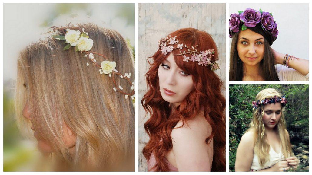 Coronite din flori pentru mirese si semnificatia lor
