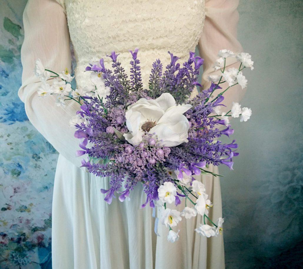 Flori artificiale la nunta