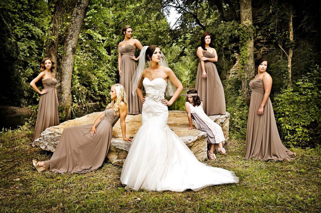 Mic album cu fotografii artistice de nunta