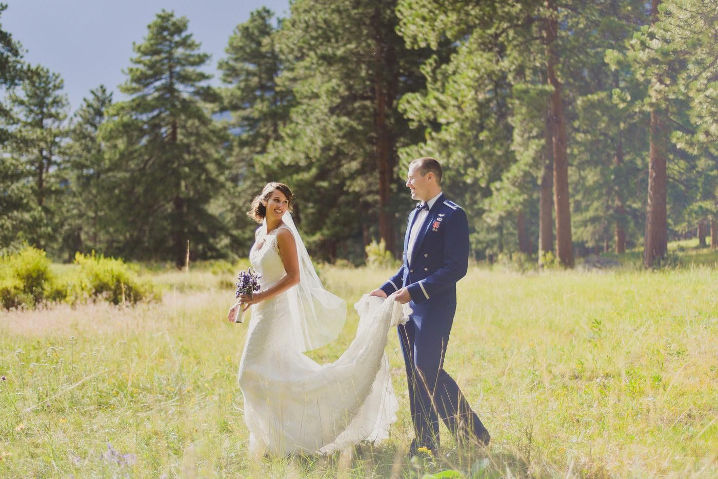 Fotografii artistice de nunta facute la munte