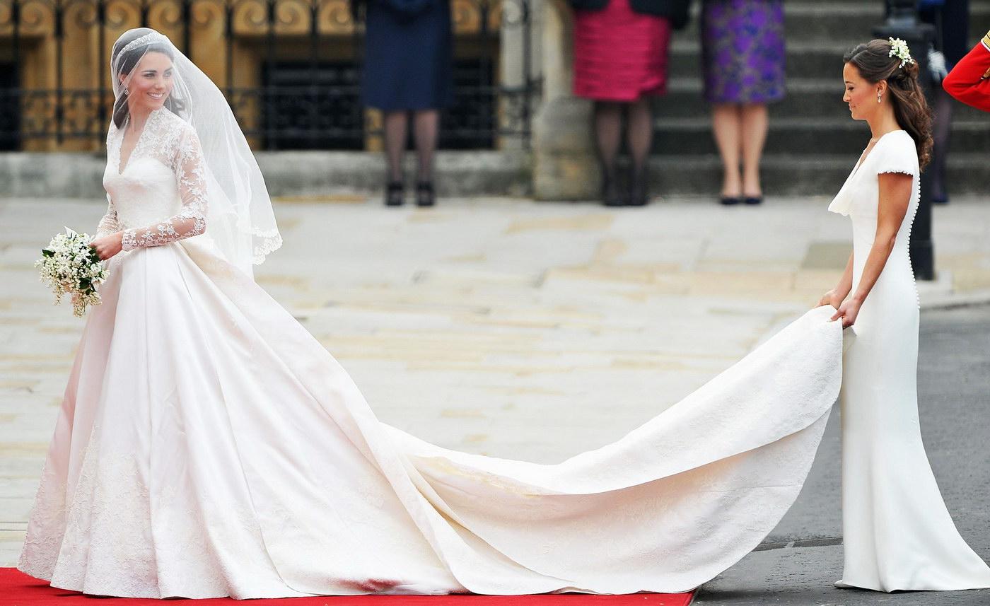 Influenta rochiei de mireasa a lui Kate Middleton asupra rochiilor si mireselor