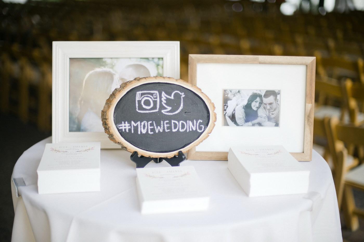 Cand sa le comunici celorlalti hashtag-ul pentru nunta