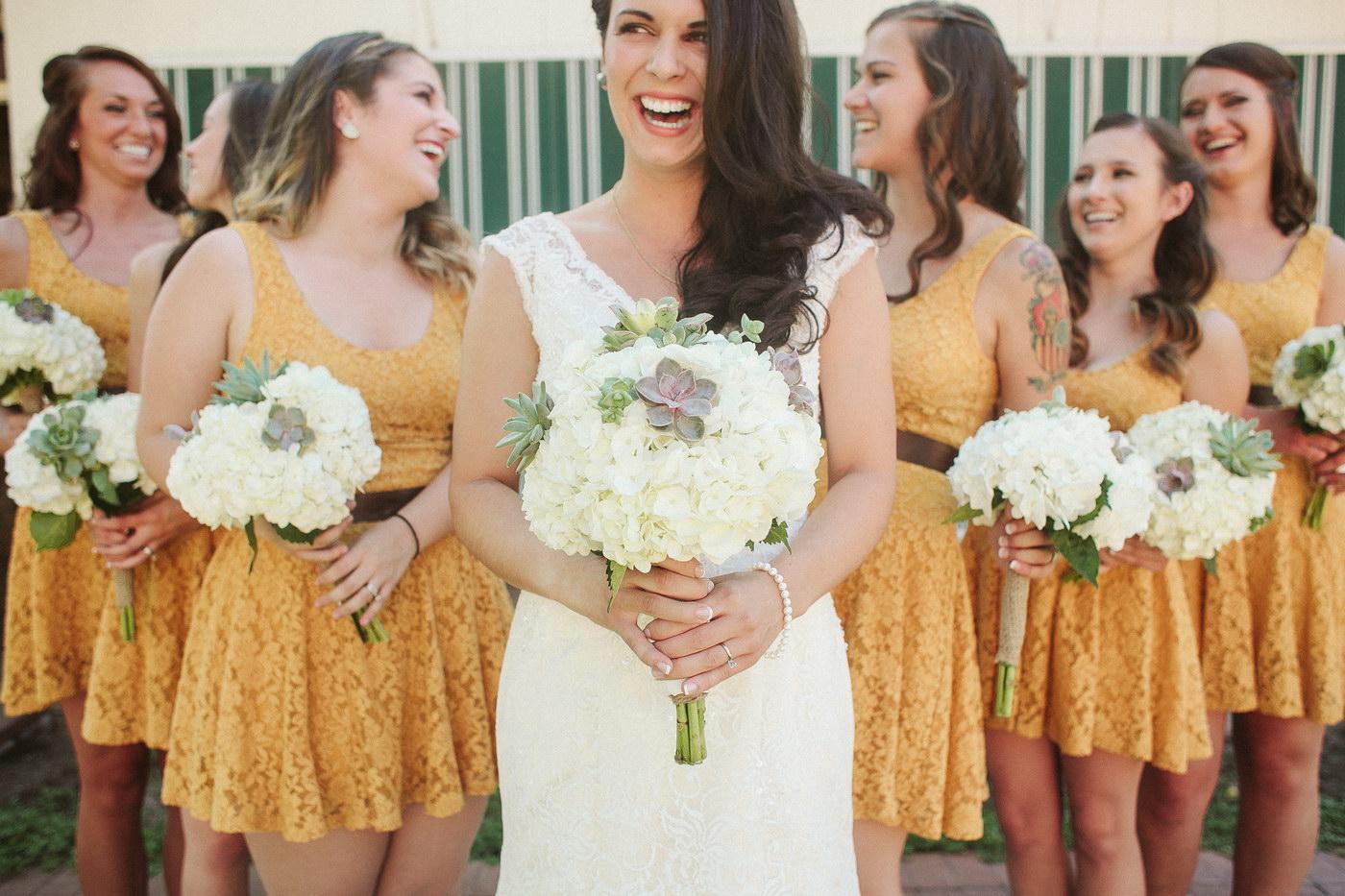 Domnisoarele de onoare casatorite