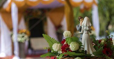 Invitati care se urca pe mese la nunta