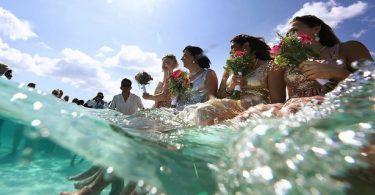 Nunta in Marea Caraibilor