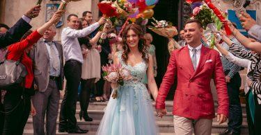 Iulia si Bogdan, protagonistii unei nunti de vis