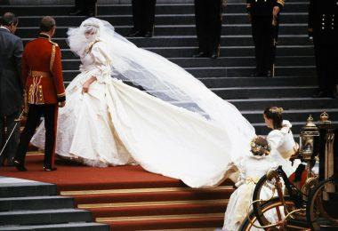 Lucruri mai putin cunoscute despre rochia de mireasa a printesei Diana
