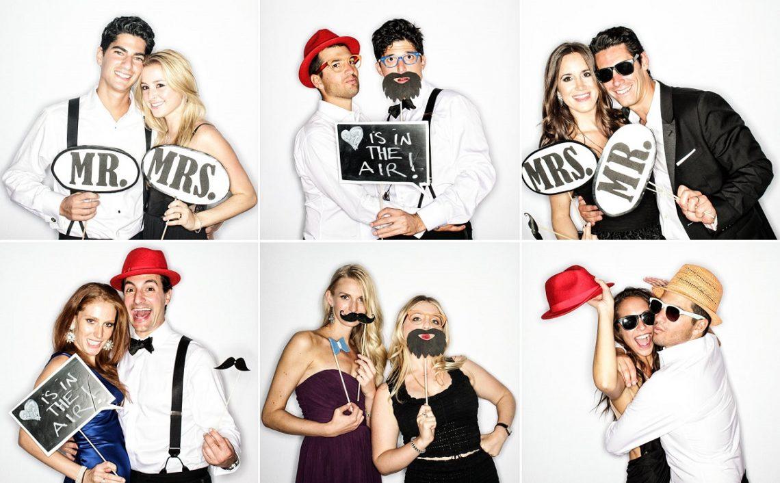 6 reguli pe care invitatii la nunta trebuie sa le stie despre cabina foto