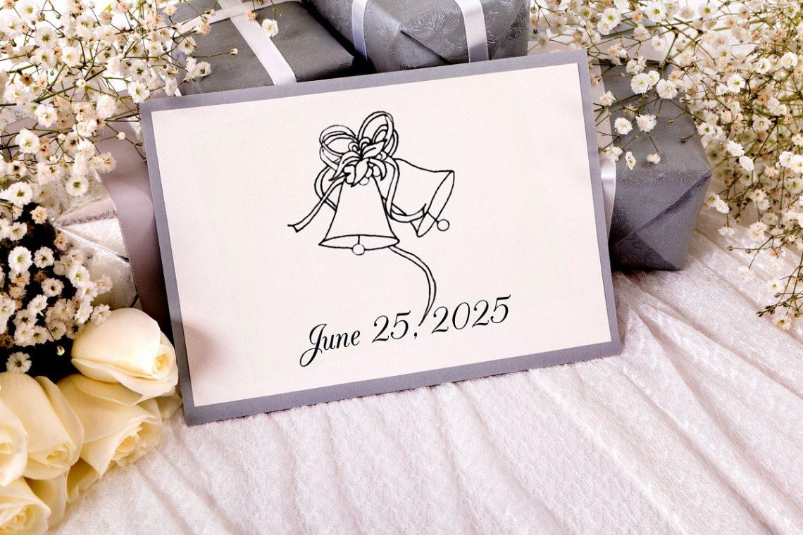 Nunta in alb si negru