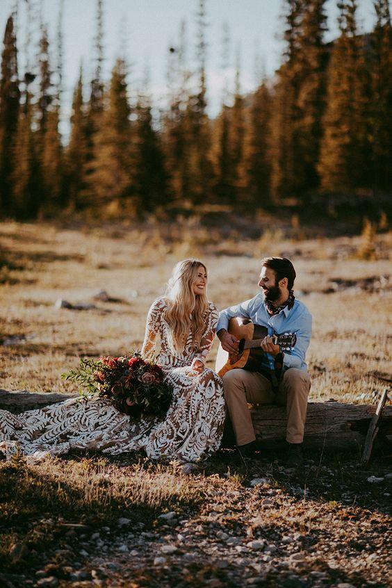 Nuntă cu tematică festival