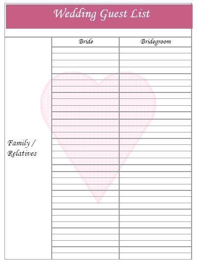 Ce să tai de pe lista de nuntă