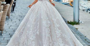 Rochia de mireasă tip prințesă. Elitemariaje