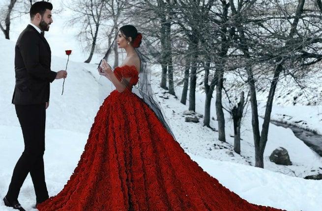 Cea mai celebră mireasă din România