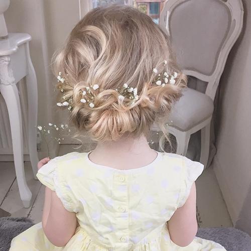 Coafuri Pentru Fetite Potrivite De Nunta Ghidul Tau De
