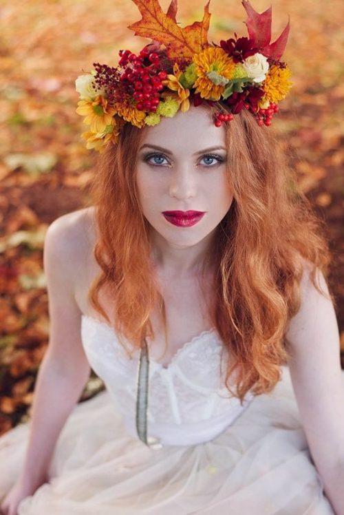Coronițele din flori pentru mireasă