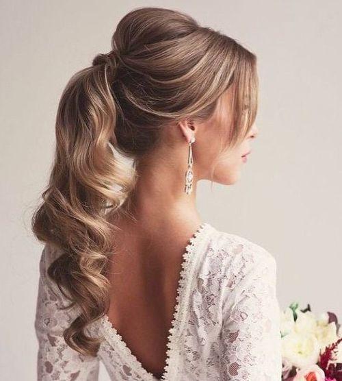 Coafuri pentru o nuntă de toamnă