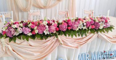 Idei inedite pentru decorarea mesei mirilor