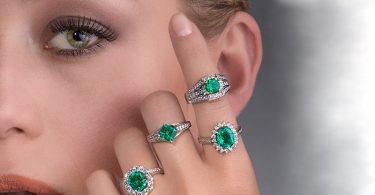 Inele de logodna cu smarald pentru viitoarele mirese