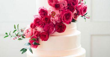 Inspiratie pentru crearea unui tort cu flori