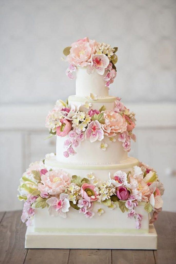 Inspiratie pentru crearea unui tort cu flori - Ghidul tau