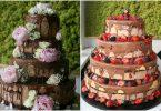 Inspiratie pentru crearea unui tort de nunta cu fructe