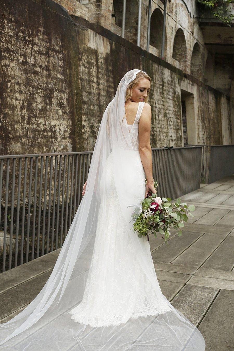 laceandfavour.com Voalul Stil Julieta