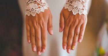 Manichiura de nuntă Pinterest