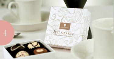 O idee dulce – marturii de nunta din ciocolata
