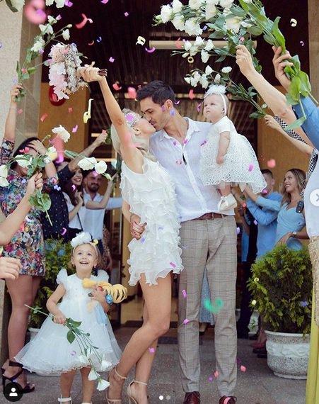 Facebook. Andreea Balan s-a casatorit
