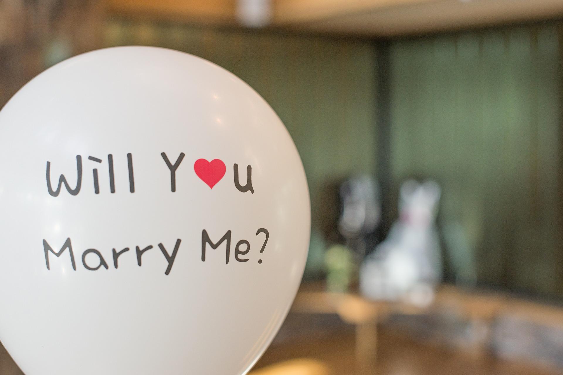 cererea în căsătorie