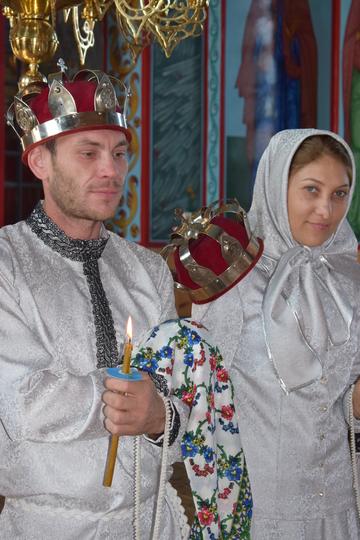 cununia religioasă la lipoveni-cununiile