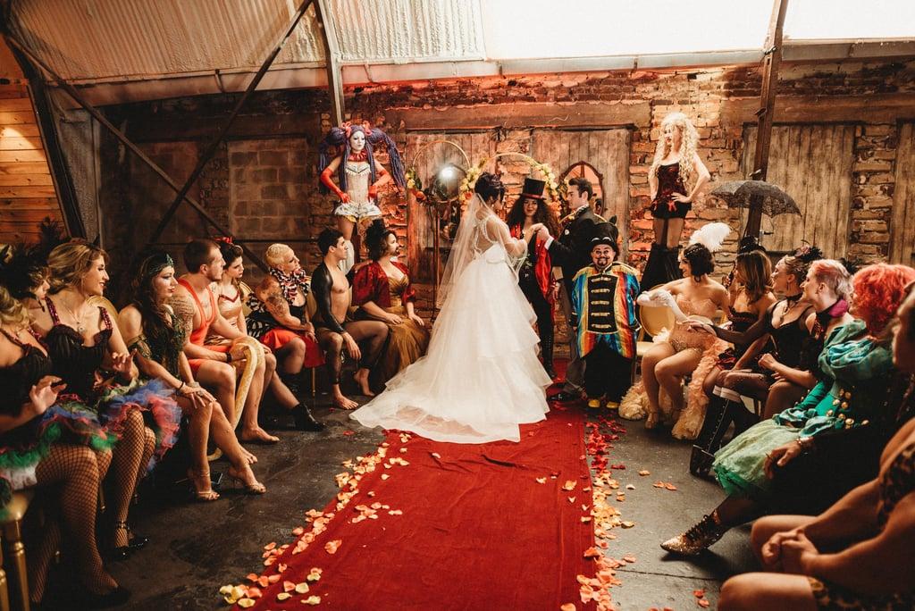 Nuntă cu tematica The Greatest Showman