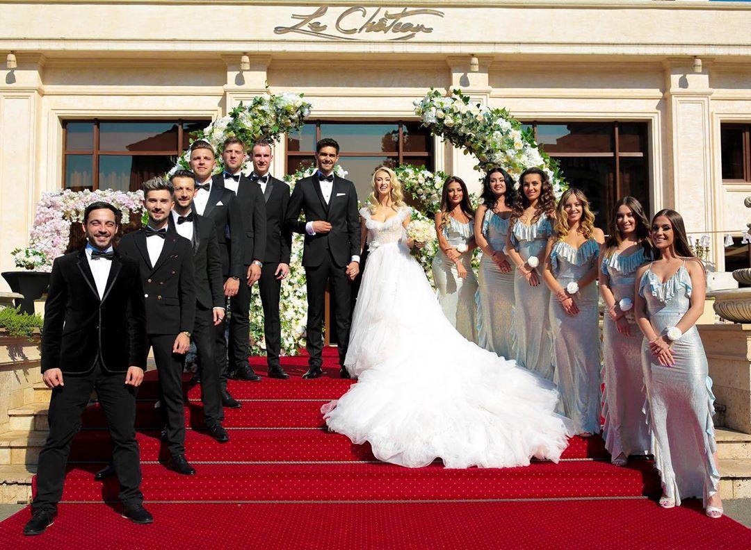 Andreea Bălan cu o zi înainte de nuntă