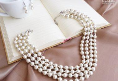 Bijuteriile de mireasa confectionate din perle