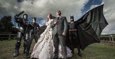 Idei grozave pentru o nunta la care tema este filmul