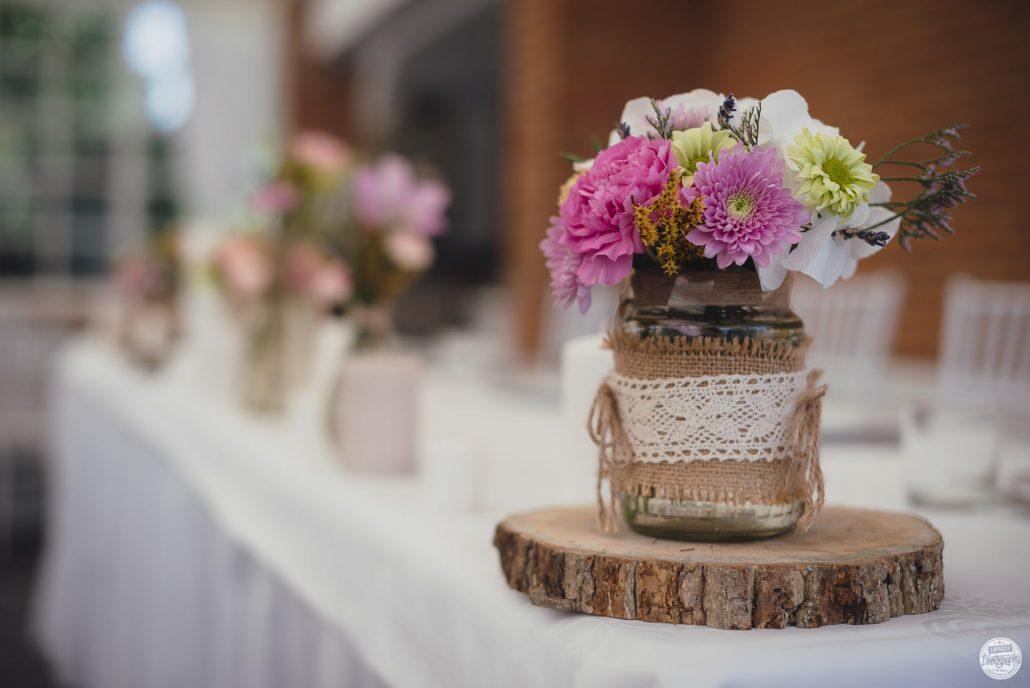 Marturii de nunta confectionate din flori