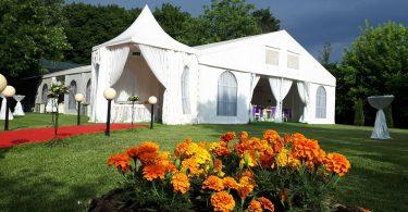 Nunta în cort este solutia pentru toate anotimpurile