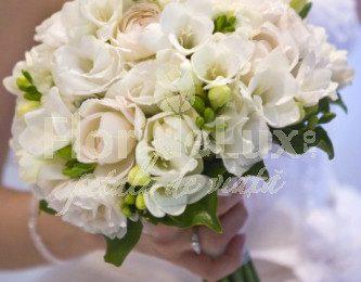 Nunta de poveste imbracata in alb