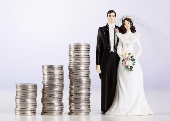 Costurile unei nunti.