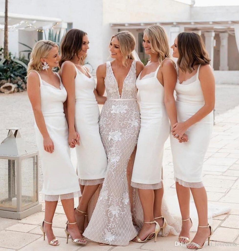 Cum pot purta alb la nunta domnisoarele de onoare