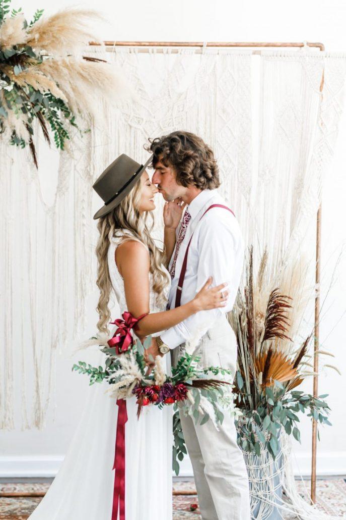 Nuntă vintage-boemă